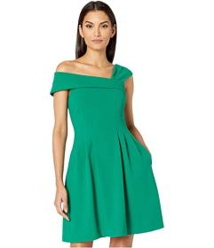 Vince Camuto Asymmetrical Fit-and-Flare
