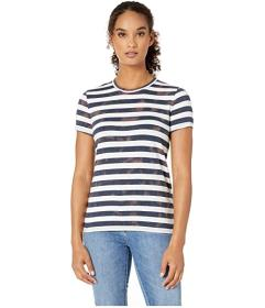 Lucky Brand Ombre Stripe Tee