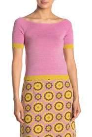 kate spade new york scallop textured sweater