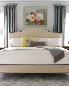 caracole Easy On The Eyes Upholstered Queen Bed