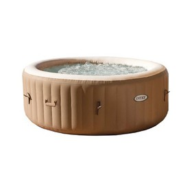 Intex PureSpa 77 Inch 4 Person Inflatable Round Ho
