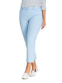Women's Plus Size Chino Crop