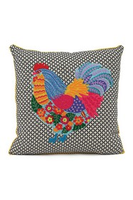 Karma Living Multi Hen Couture Pillow on sale at Haute Look