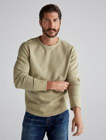 Lucky Brand French Rib Long Sleeve Crew Neck