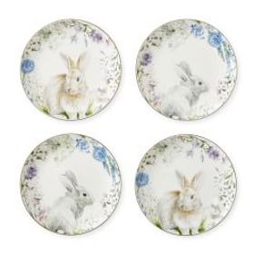 Floral Meadow Wreath Mixed Appetizer Plates