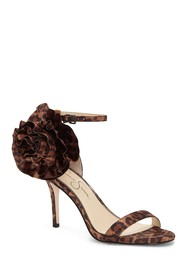 Jessica Simpson Ellira Printed Blossom Applique Sa