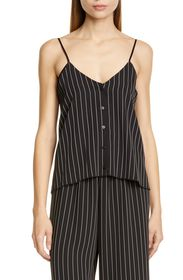 ATM Anthony Thomas Melillo Striped Button Front Ca
