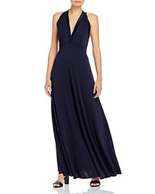 Elie Tahari - Everly Satin-Trim Maxi Dress