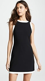 alice + olivia Truly Banded Neck Fitted Dress