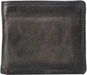 Frye Frye - Murray Double Bifold. Color Carbon. On