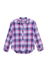 Tommy Bahama Sombra Plaid Roll Sleeve Shirt