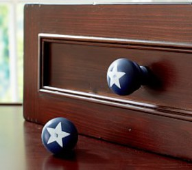 Pottery Barn Star Knobs