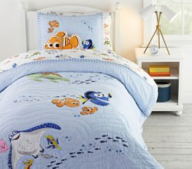 Pottery Barn Disney and Pixar Finding Nemo Quilt