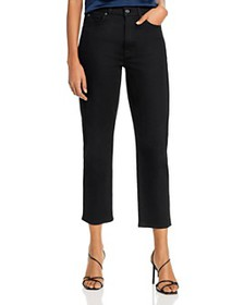 7 For All Mankind - Cropped Straight Jeans in No F