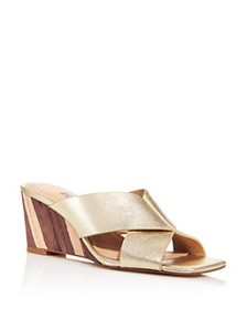 Charles David - Women's Testify Slip On Wedge Sand