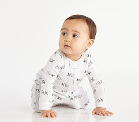 Pottery Barn XO Nursery One Piece Pajama