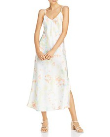 FRENCH CONNECTION - Sade Tie-Dyed Maxi Slip Dress