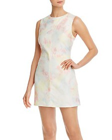 FRENCH CONNECTION - Sade Tie-Dyed Denim Mini Dress