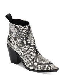 Kenneth Cole - Women's West Side Snake-Print Booti
