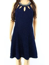 Betsy Adam NEW Navy Blue Womens Size 2 Sheath Shim