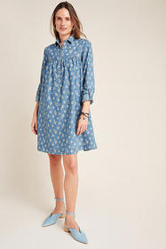 Anthropologie Rochelle Shirtdress
