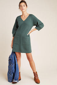 Anthropologie Angelika V-Neck Tunic