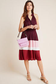 Anthropologie Cobie Colorblocked Midi Dress