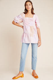 Anthropologie Gable Tiered Tunic