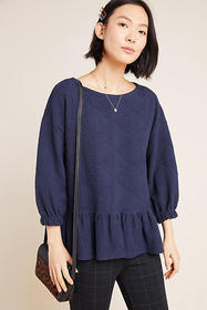 Anthropologie Mikayla Peplum Top