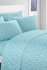null King Beech Contemporary Two-Tone Geometric Le
