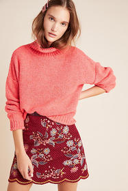 Anthropologie Lottie Textured Sweater