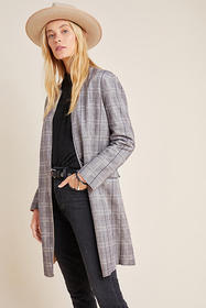 Anthropologie Renegade Longline Blazer