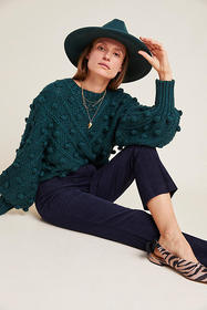 Anthropologie The Essential Corduroy Cropped Flare