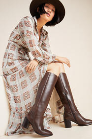 Anthropologie Seychelles Twist Of Fate Knee-High B
