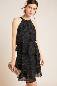 Anthropologie Tallie Tiered Mini Dress