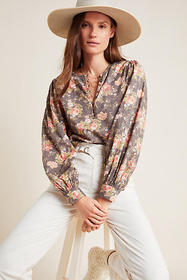 Anthropologie Michaela Peasant Blouse