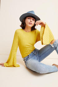 Anthropologie Lois Ribbed Pullover