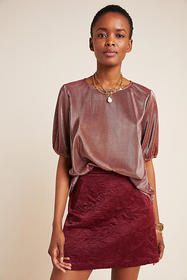 Anthropologie Augusta Shimmer Top