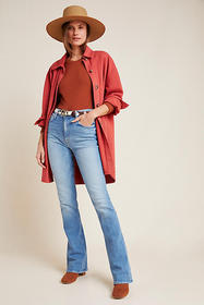 Anthropologie MOTHER The Runaway High-Rise Bootcut