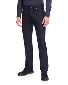 Ermenegildo Zegna Men's 5-Pocket Straight-Leg Jean