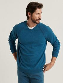 Lucky Brand Welter Weight V-neck Sweater