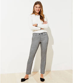 Petite Speckled Slim Pencil Pants