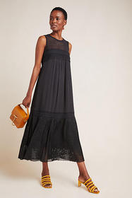 Anthropologie Karina Lace Maxi Dress