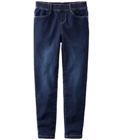 LL Bean Girls' L.L.Bean Pull-On Stretch Jeans