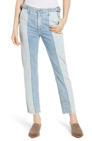 AG Isabelle High Waist Crop Straight Jeans