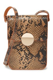 Most Wanted USA Snake Embossed Leather Crossbody B