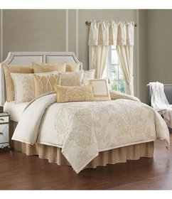 Rose Tree Farrah Linen & Cotton Floral Comforter S