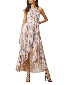 Ted Baker - Dixxie Pleated High/Low Maxi Dress