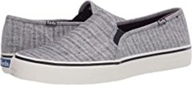 Keds Double Decker Chambray Stripe Linen