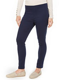 Chelsea Twill Tummy-Control Cropped Pants, Created